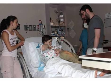 hospital action shot